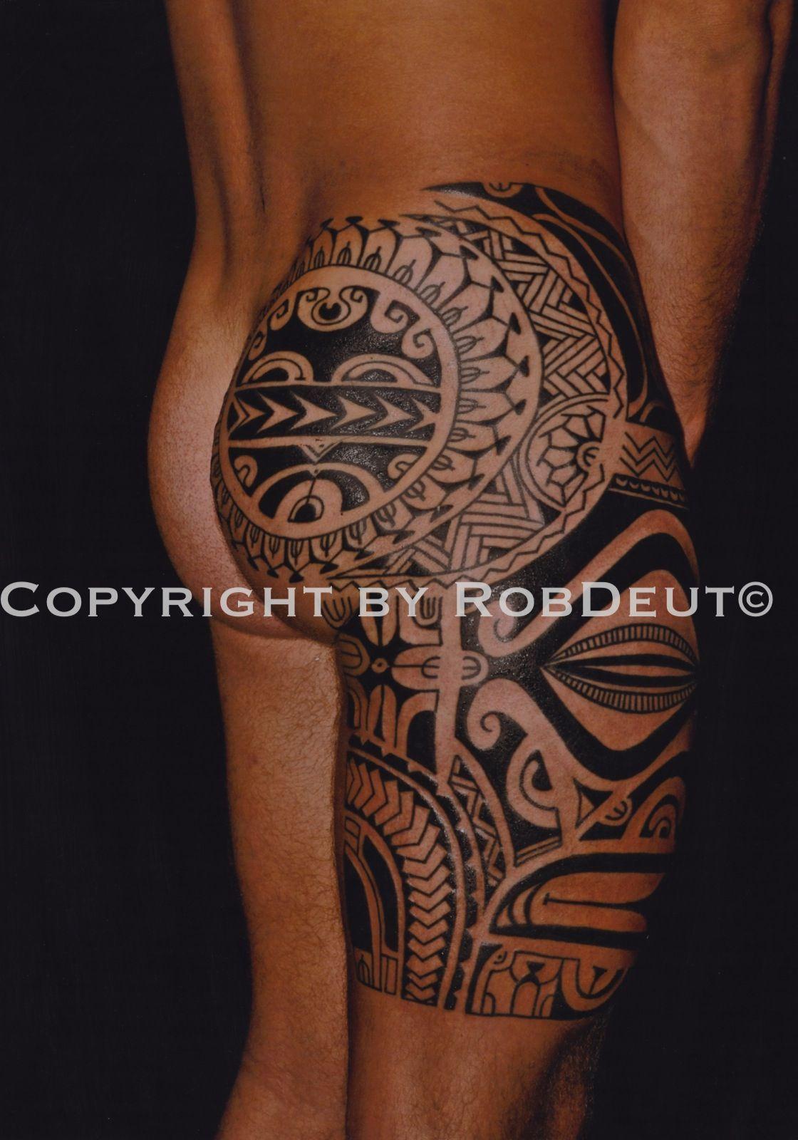 sélection tatouage maori jambe - page 3 sur 3 - justeuntattoo