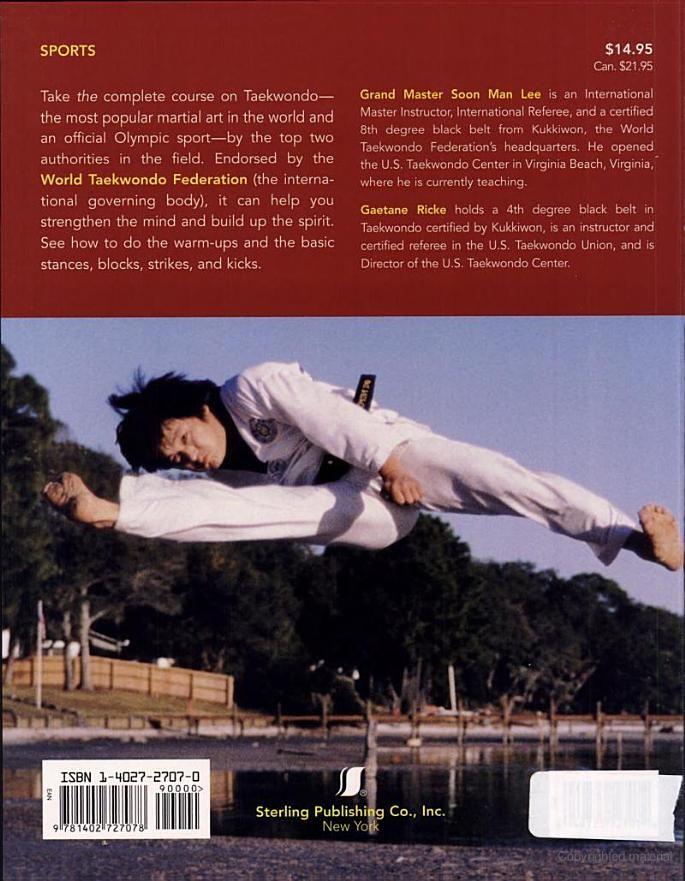 official taekwondo training manual soon man lee gaetane ricke rh pinterest com official taekwondo training manual free download modern taekwondo the official training manual pdf