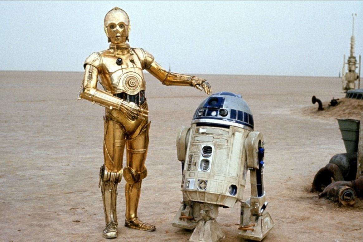 Image result for C-3PO R2D2