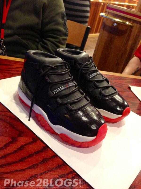 Air Jordan 11 Bred Birthday Cake super 16 Pinterest