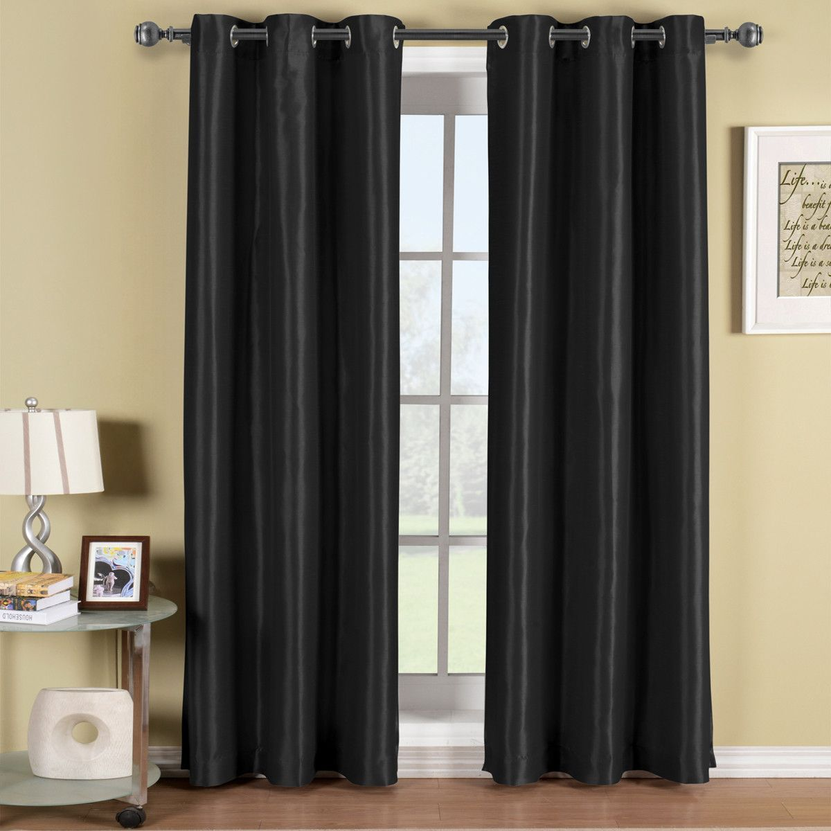 Soho Grommet Thermal Blackout Window Curtain Panel Curtains