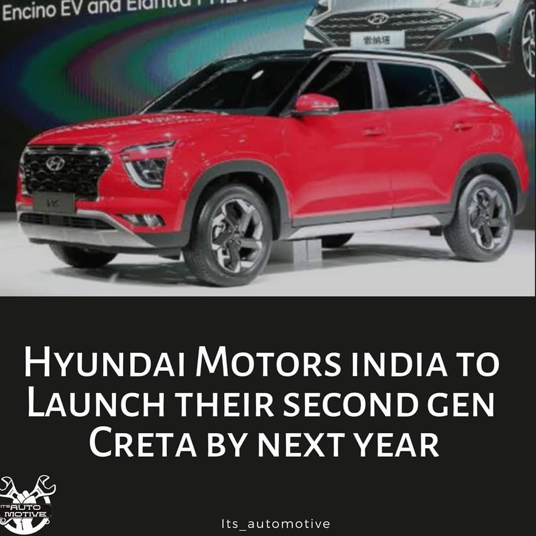 The New Hyundai Creta 2020 Is Coming Next Year To India And Will Be A Feature Loaded Product The Hyundai Hyundai New Hyundai Hyundai Motor