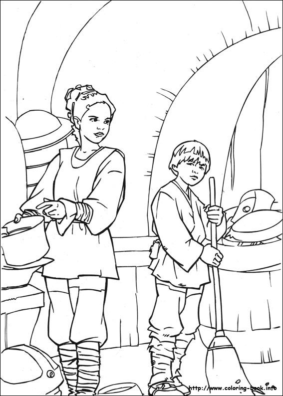 Star Wars coloring pages to print | Star wars | Pinterest