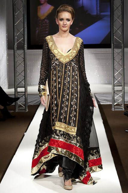 Pakistan Fashion Week 2011 London ~ Waseem Noor - Asian Wedding Ideas