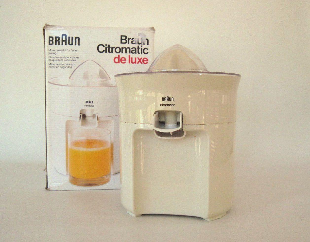 Braun MPZ22 Citromatic Deluxe Citrus Juicer