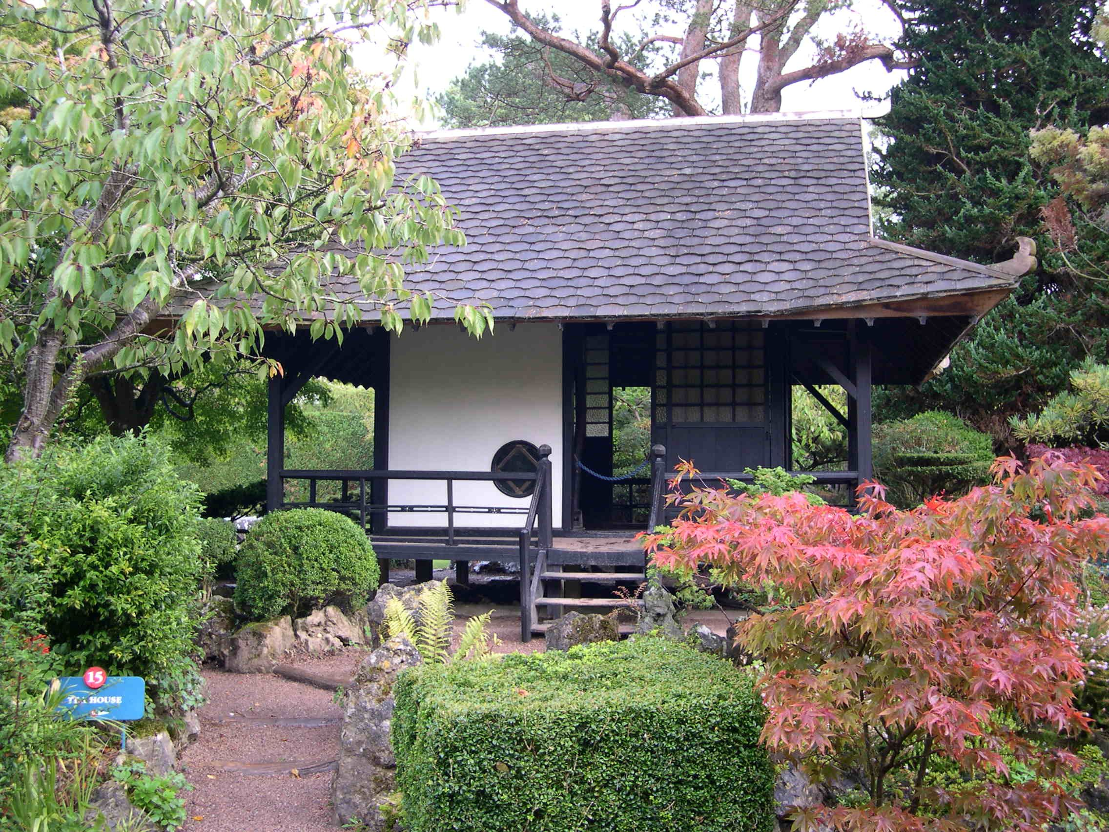 Tea House, Japanese Gardens, Tully, County Kildare, Republic Of Ireland