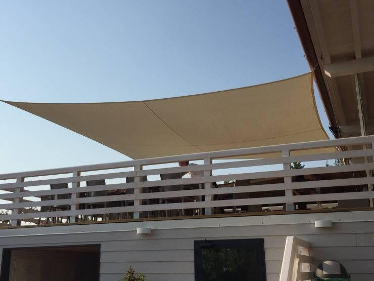 Tenda A Vela Per Terrazzo : Come proteggere il terrazzo dal sole esempi tende tende