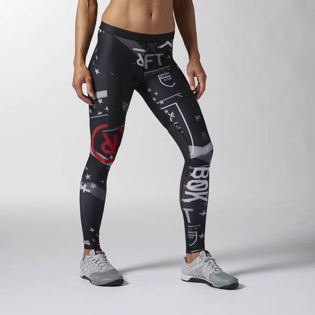 c0af9f2693 Reebok CrossFit PWR5 Compression Tight - Black | Reebok US ...