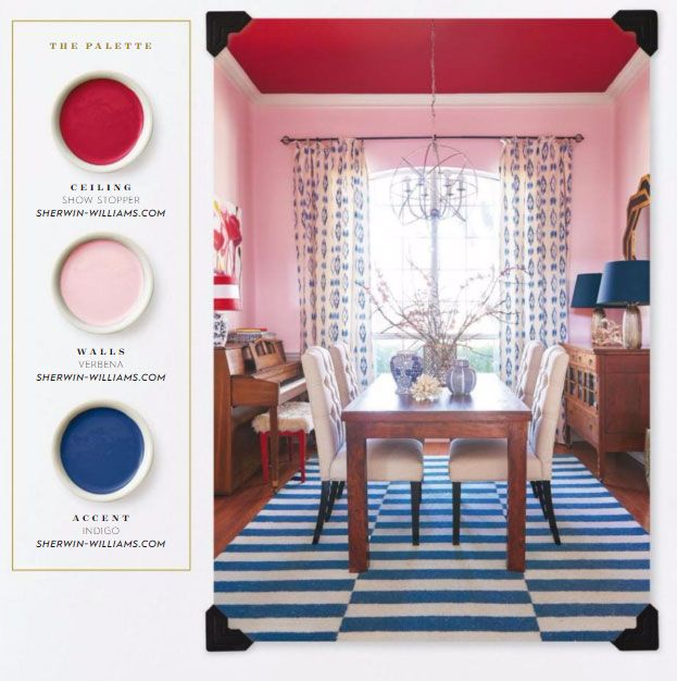 Sherwin Williams Paints In Red Pink And Blue Grey Interior Doors Pink Decor Blue Decor