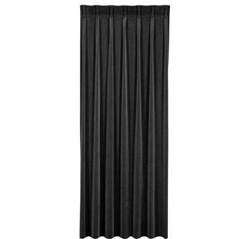 GORDIJN VELOURS ZWART   19 inch rack & desk building (DIY ...