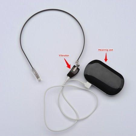 Idea for a #diy homemade soft band for bone conduction #hearingaid ...