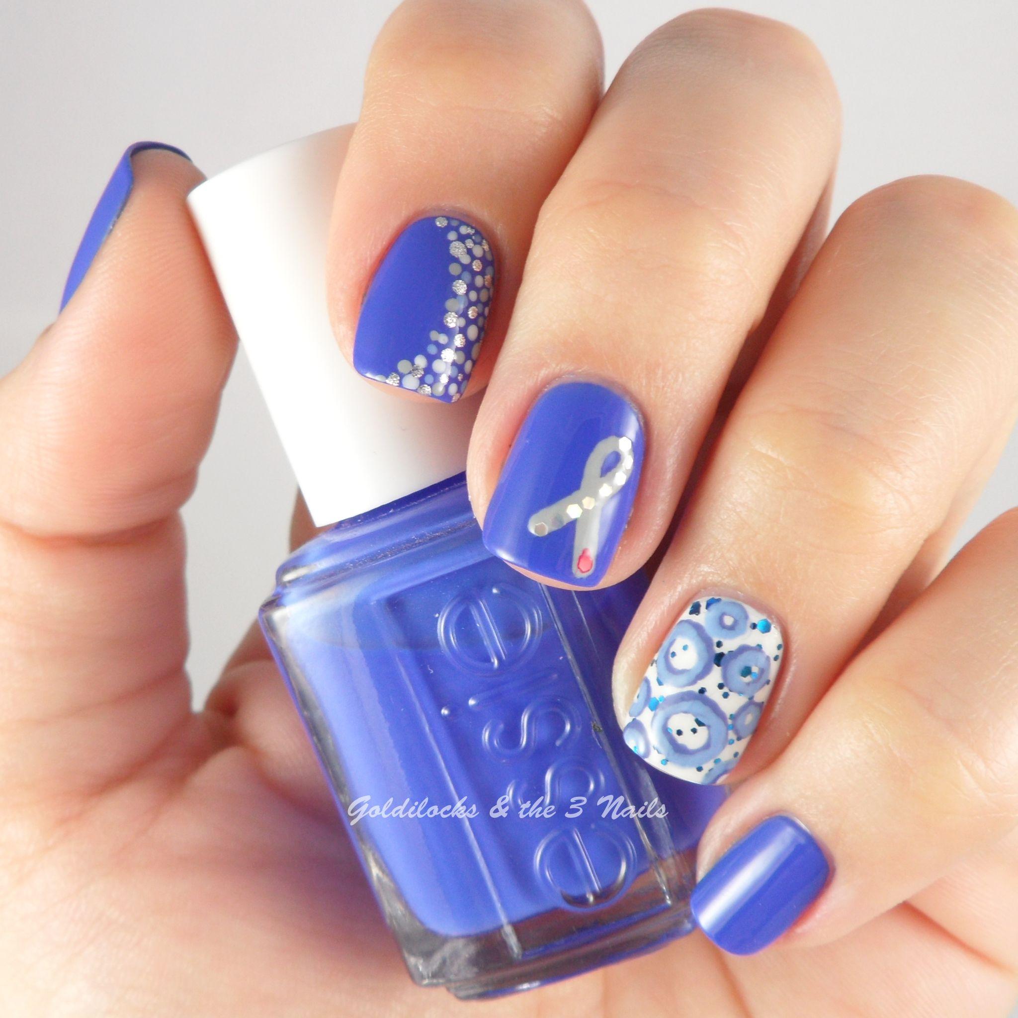 World Diabetes Day (WDD) Nail Art | Nails | Pinterest | Diabetes ...