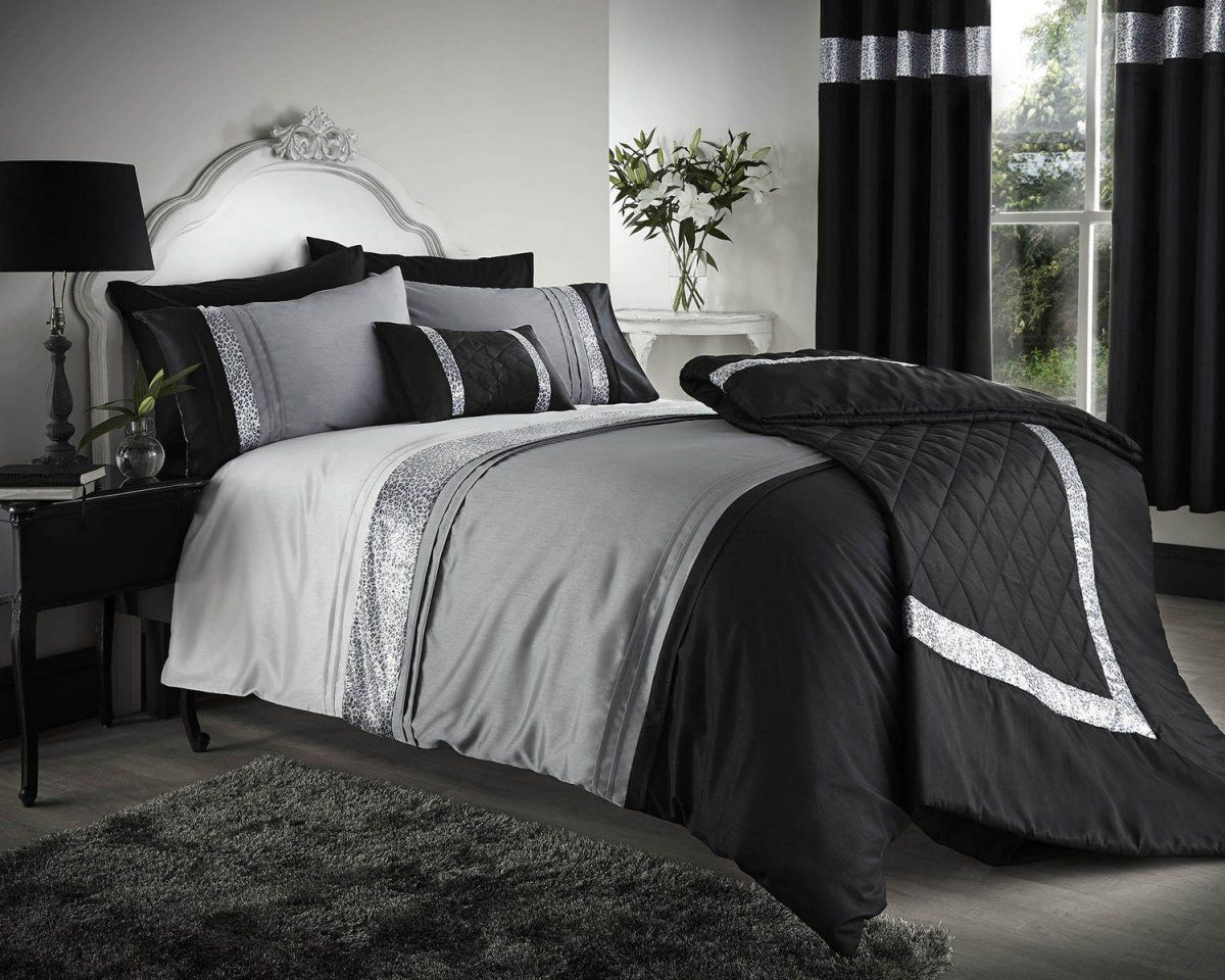 Flatlayer Com Bedroom Comforter Sets Black Bedspread Red Bedding