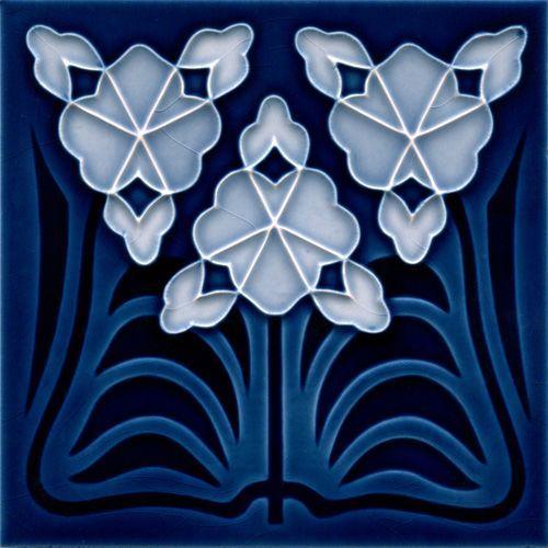 Art deco tile golem kunst und baukeramik art deco art nouveau jugendstil malerei kunst - Art deco fliesen ...