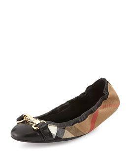 burberry ballerina shoes