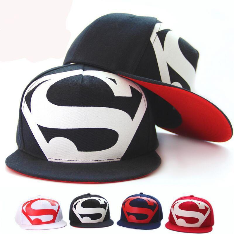 61ce4dce6ca Hot Fashion Men s Unisex Snapback adjustable Baseball Cap Hip Hop hat  Superman  Huewind  BaseballCap