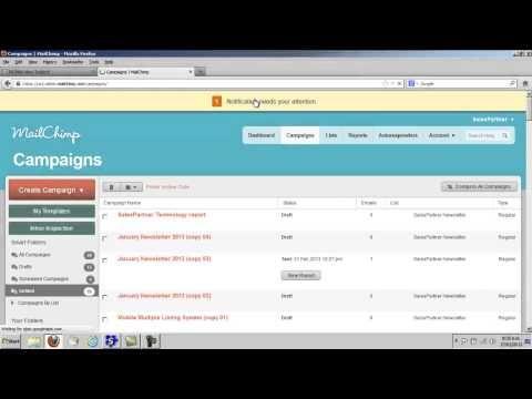 Mailchimp  Real Estate Newsletters  Salespartner