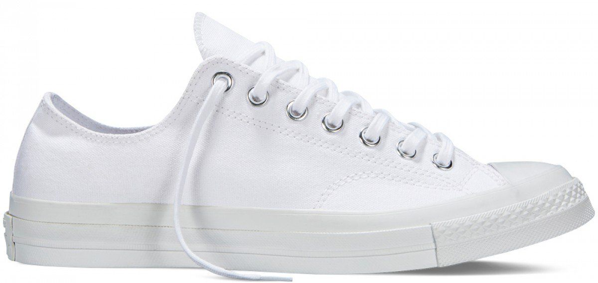 7643ed204441 Converse Chuck Taylor All Star 70 s Low Top White Monochrome