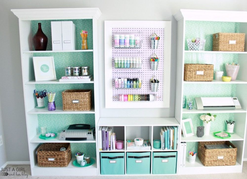 home office colorful girl. 18 Photos That Prove Home Organization Is An Art Form Office Colorful Girl L