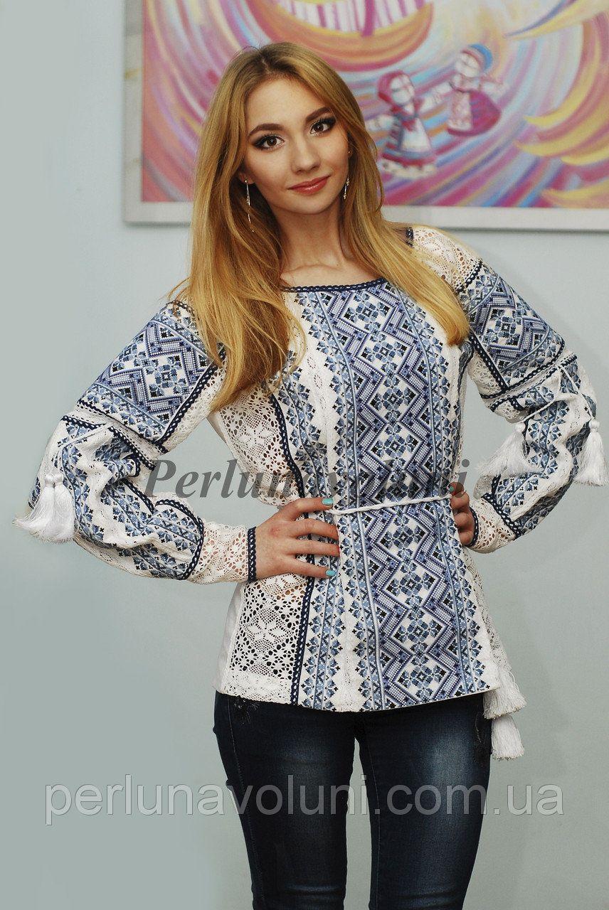 Блуза с вышивкой БЖ 20-033 ae11f5a724f99