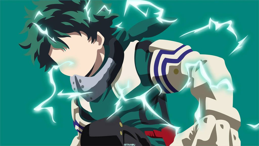 Midoriya Izuku Deku My Hero Academia By Antivvibu Anime Canvas Anime Character Design Hero Wallpaper