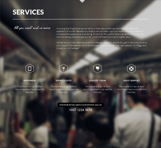 This one page Joomla template comes with support for over 500 Google ...