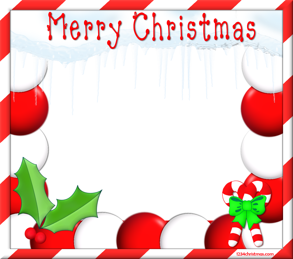 Xmas Free Christmas Photo Frame Templates for FREE Download   Merry ...