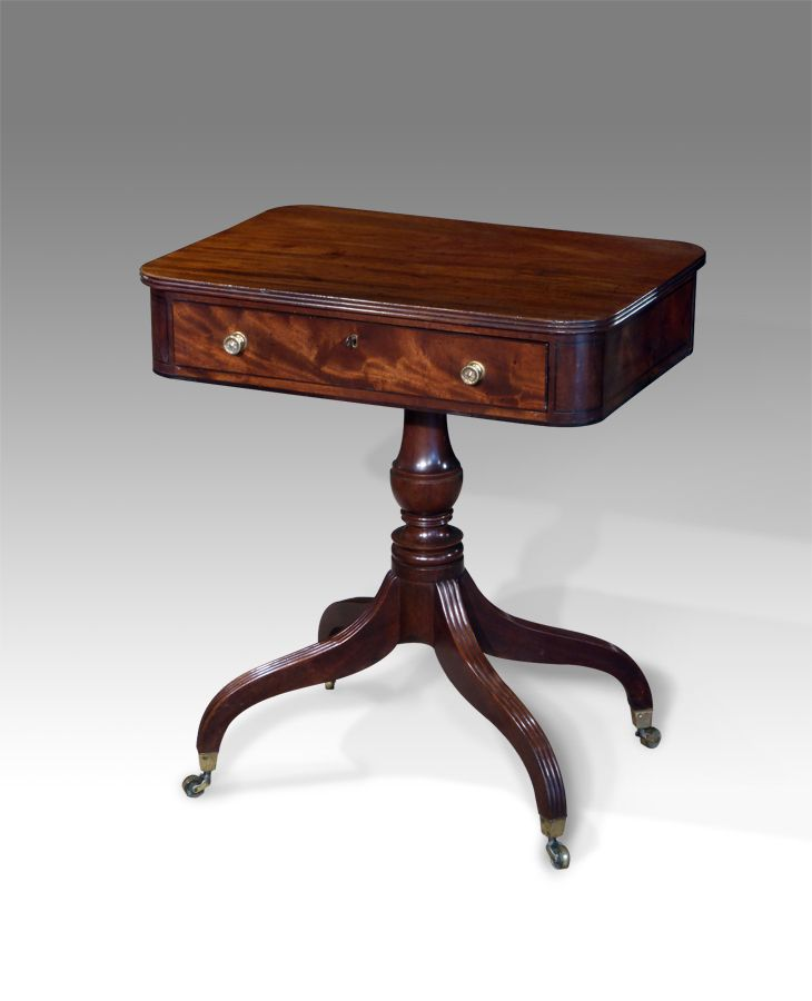 Bon Antique Pedestal Writing/drawing Table