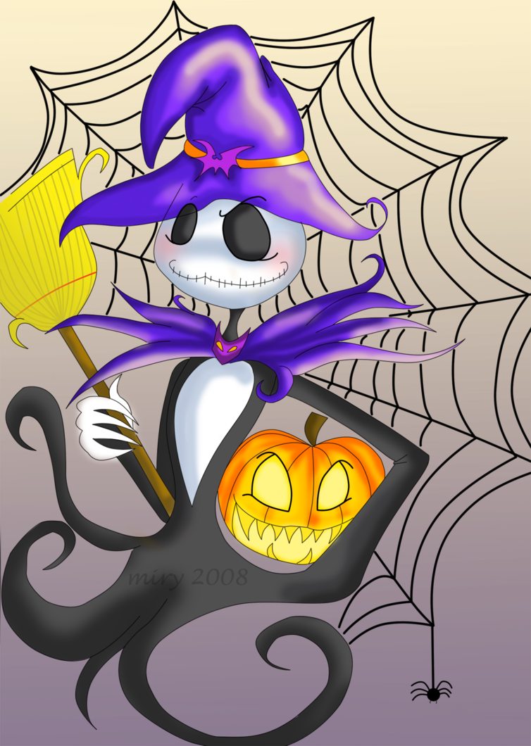 The Pumpkin Witch...? by DarkChocolateCandy on deviantART