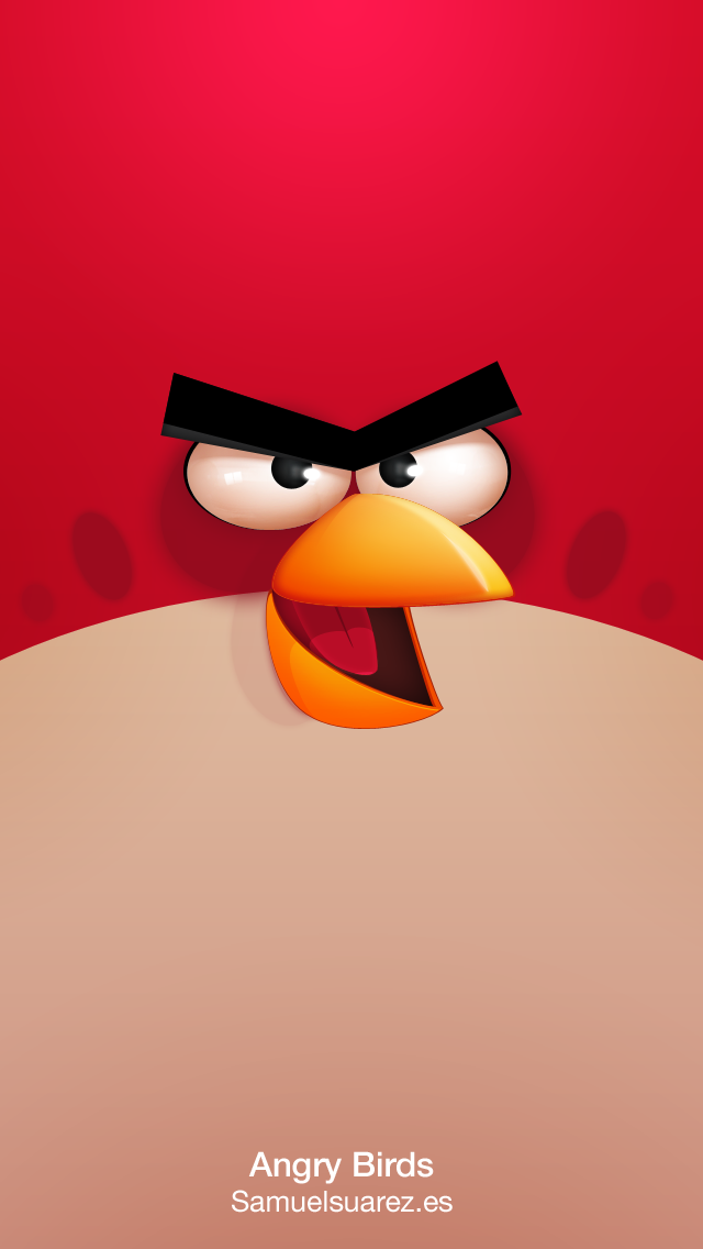 Dribbble Angry Birds Red Png By Samuel Suarez Bird Wallpaper Android Wallpaper Funny Iphone Wallpaper