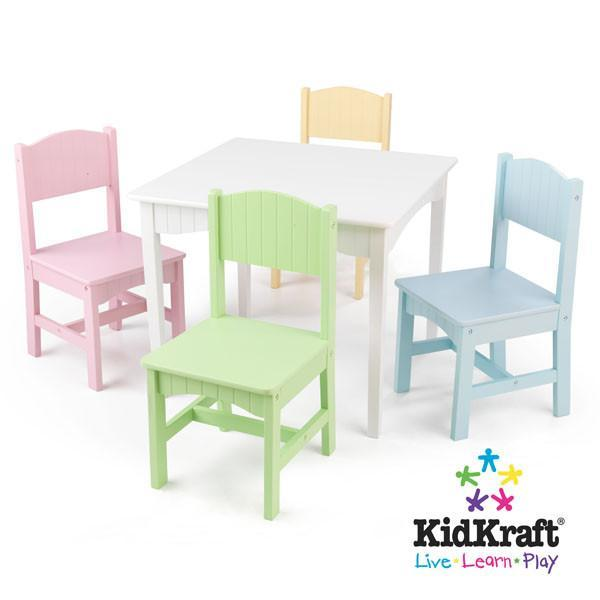 Swell Kidkraft Nantucket Table 4 Pastel Chairs 26101 Products Short Links Chair Design For Home Short Linksinfo