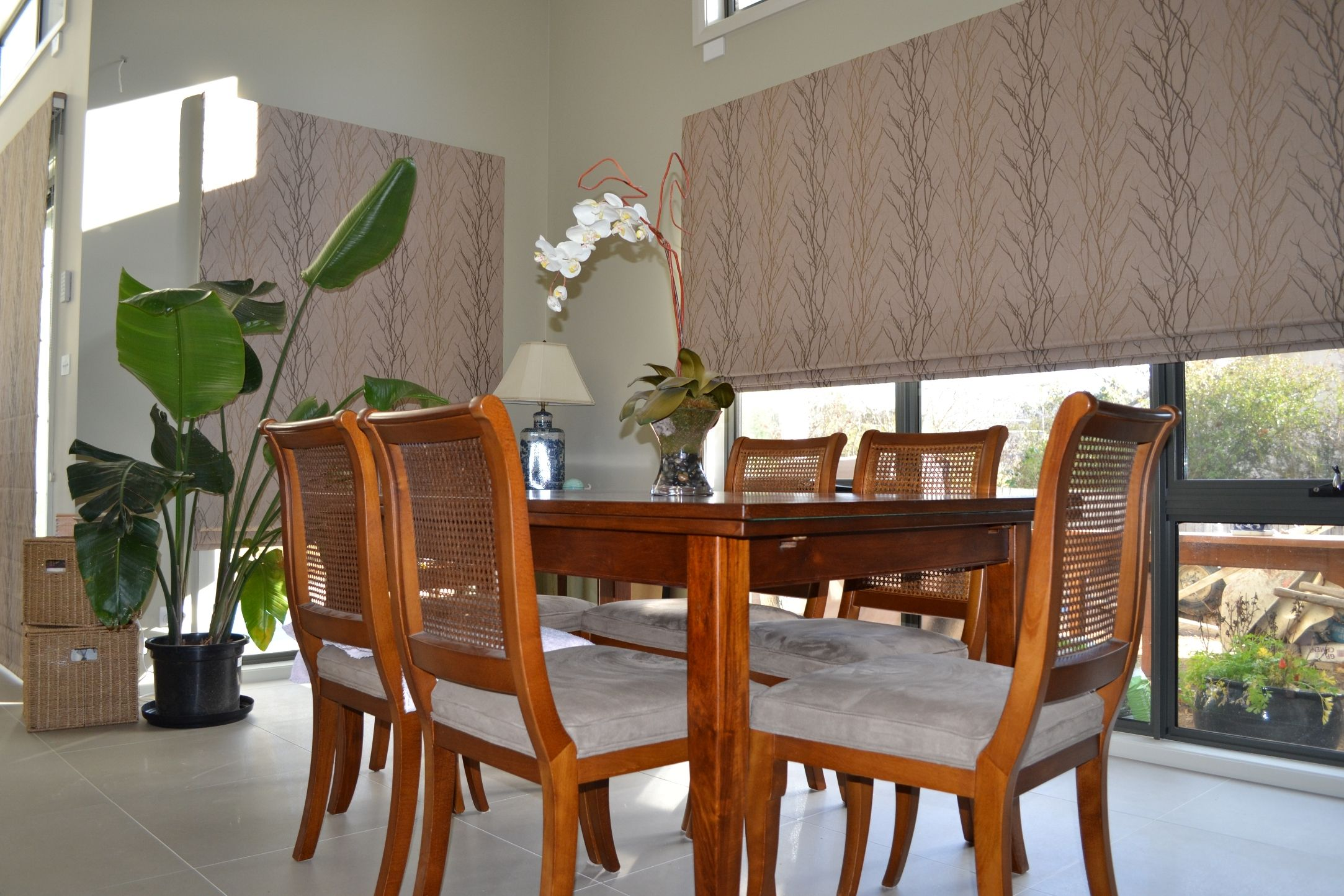 Roman Blinds for larger areas