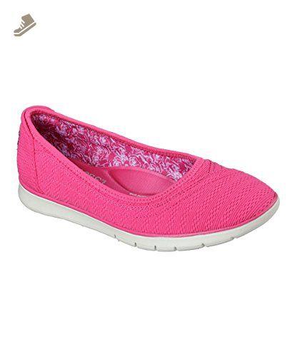 BOBS from Skechers Women's Pureflex Supastar Flat, Hot Pink, 7 US - Skechers  sneakers