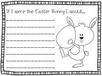 writing about easter holidays