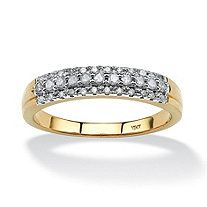 1/4 TCW Round Diamond Ring in 10k Gold