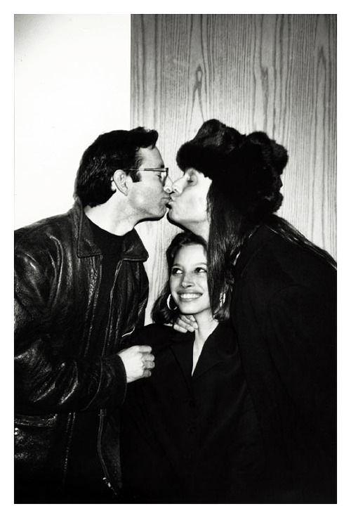 Herb Ritts Christy Turlington & Steven Meisel by Roxanne Lowit
