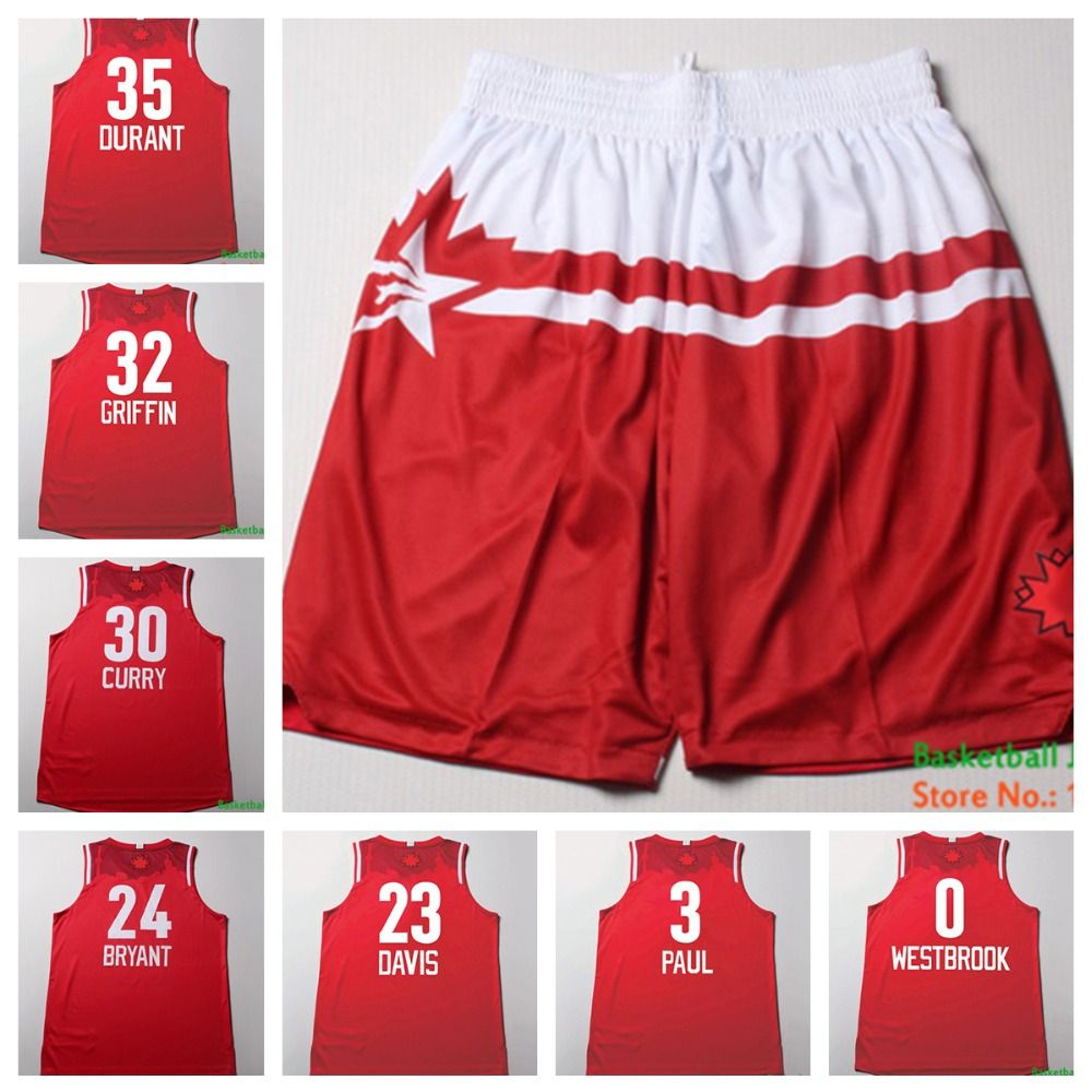 Aliexpress.com   Buy 2016 All Star Game Western Red Basketball Short ... 7baa2e032