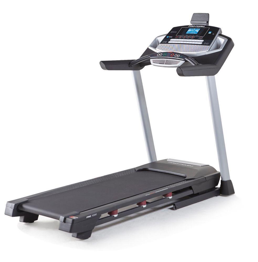 Proform Pro 1000 Treadmill Pftl99015 New W Warranty Proform