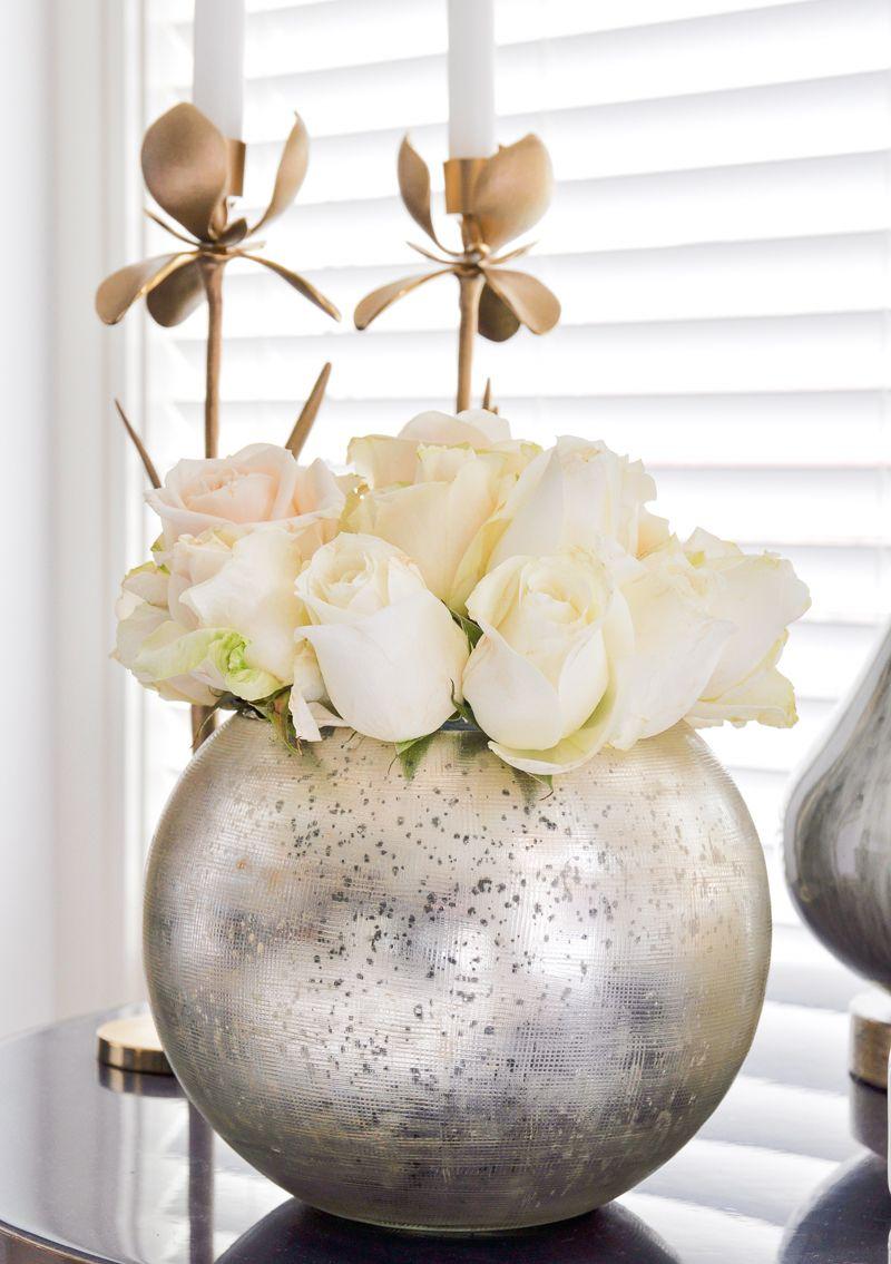 Idee Deco Vase Rond 3 ways to arrange roses - featuring | round vase, vases