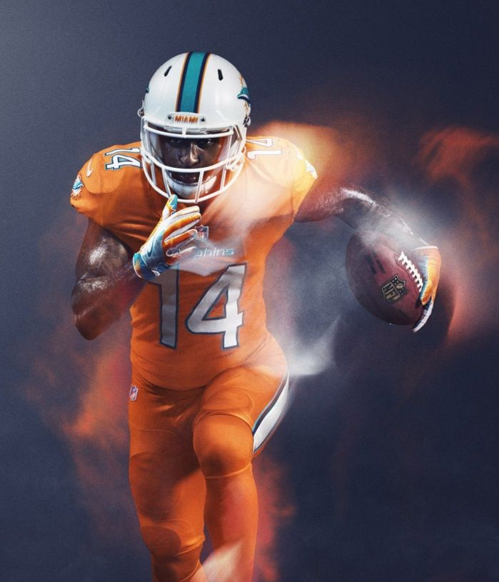Miami Dolphins - 2016 NFL Color Rush Uniform | Miami Dolphins ...
