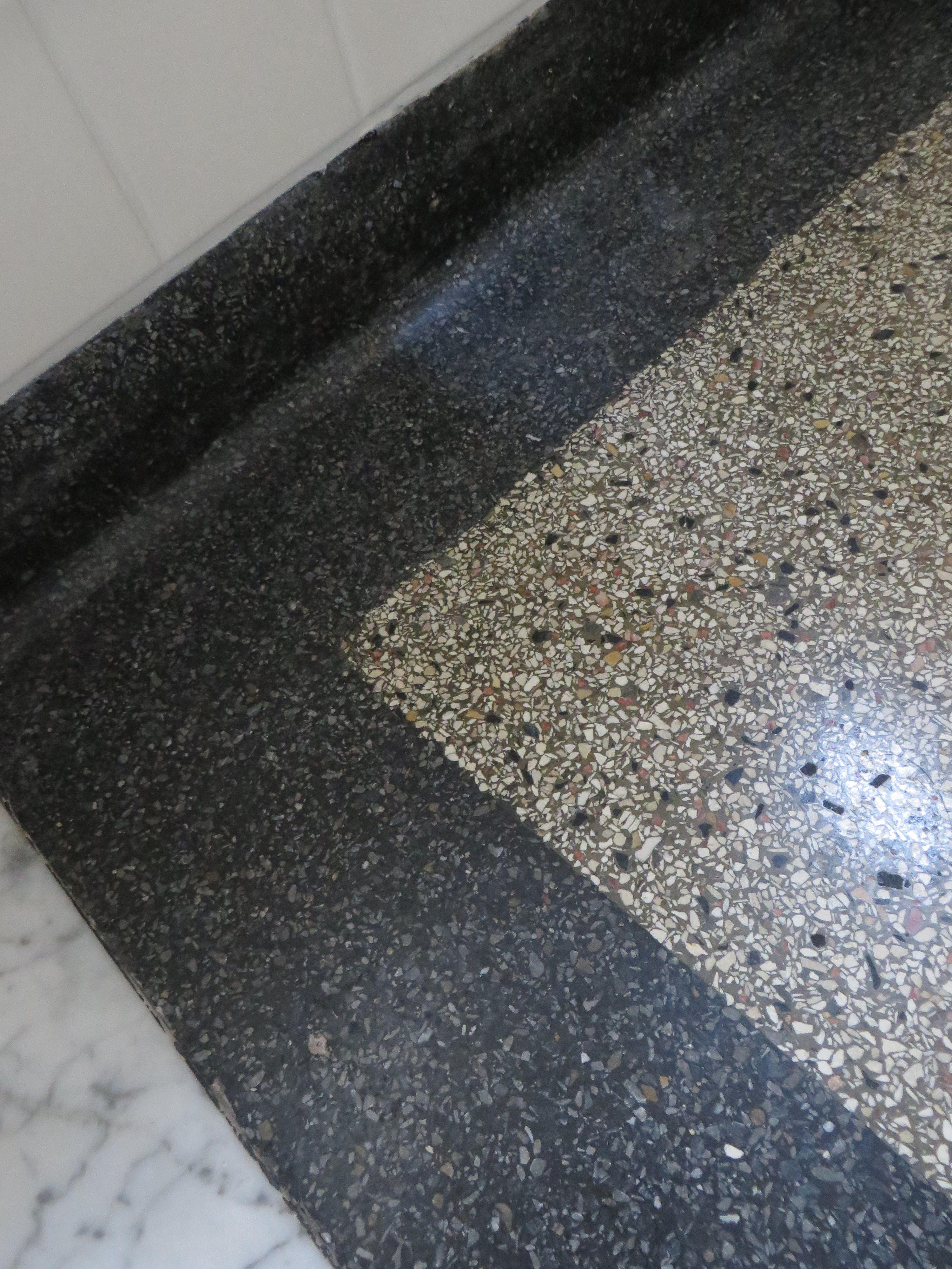 granito tegels gestorte vloer jaren 30 woning home fireplace