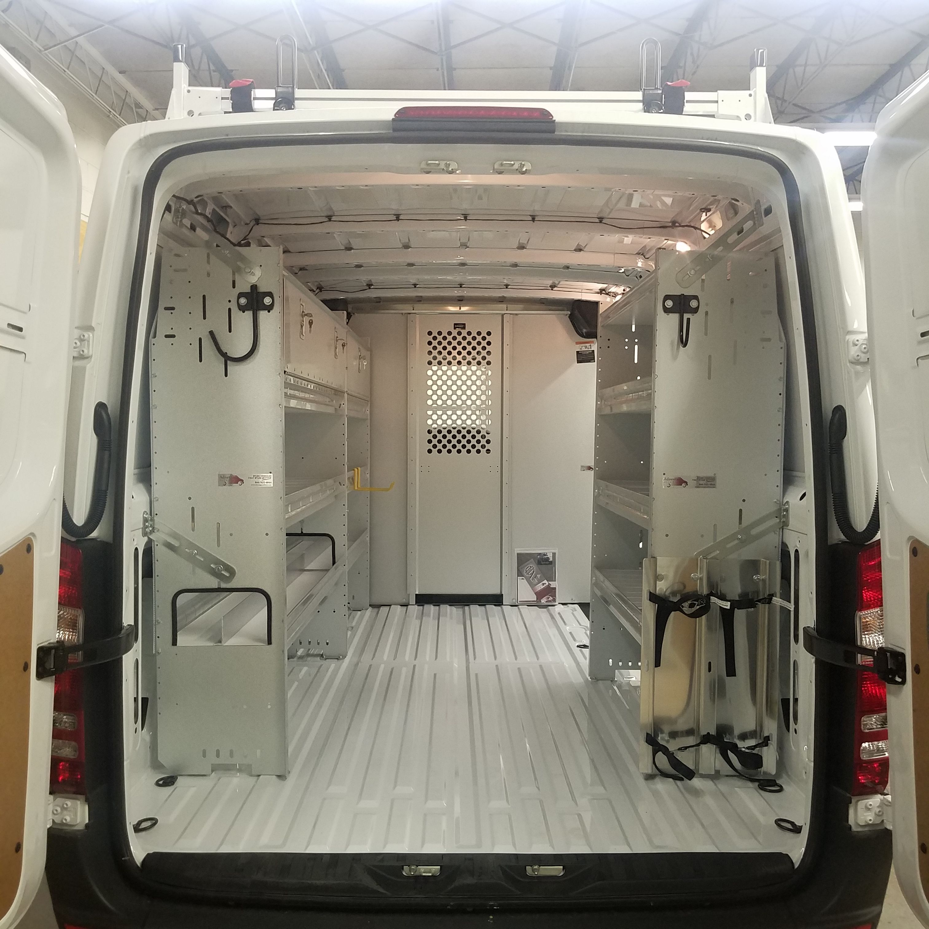 Check Out Our Van Shelving Packages Including Racks And Bins For