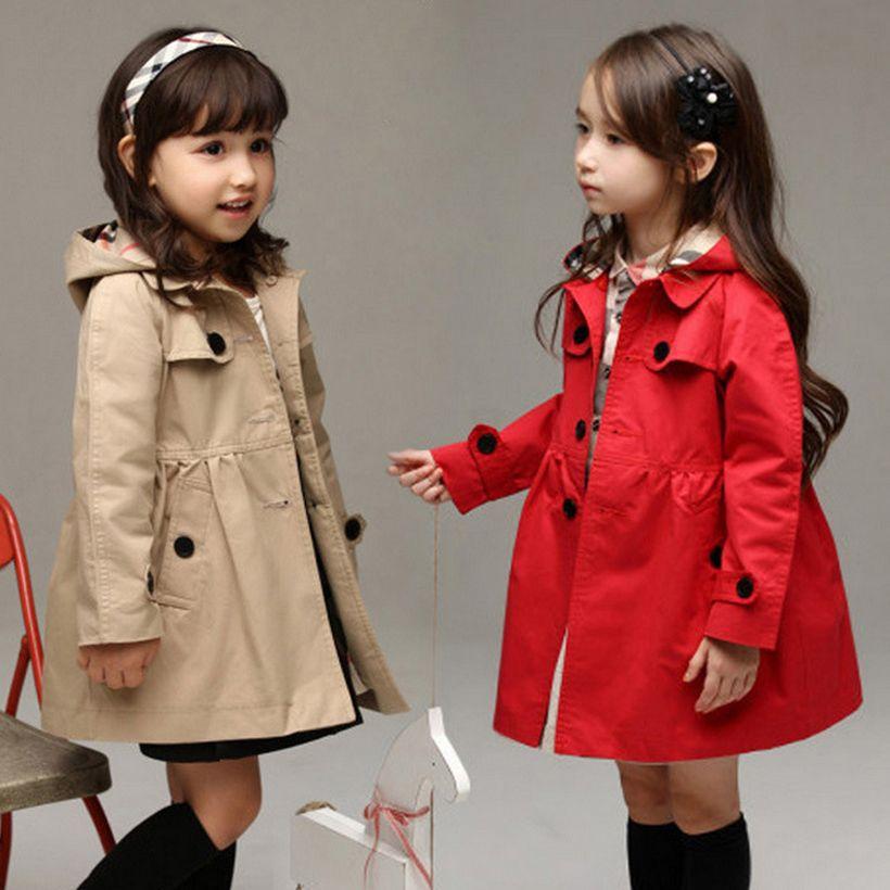 windbreake girls jacket kids coats jackets girl outerwear children ...