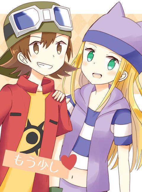 Takuya Zoe Digimon Tamers Digimon Seasons Digimon Adventure Tri Season