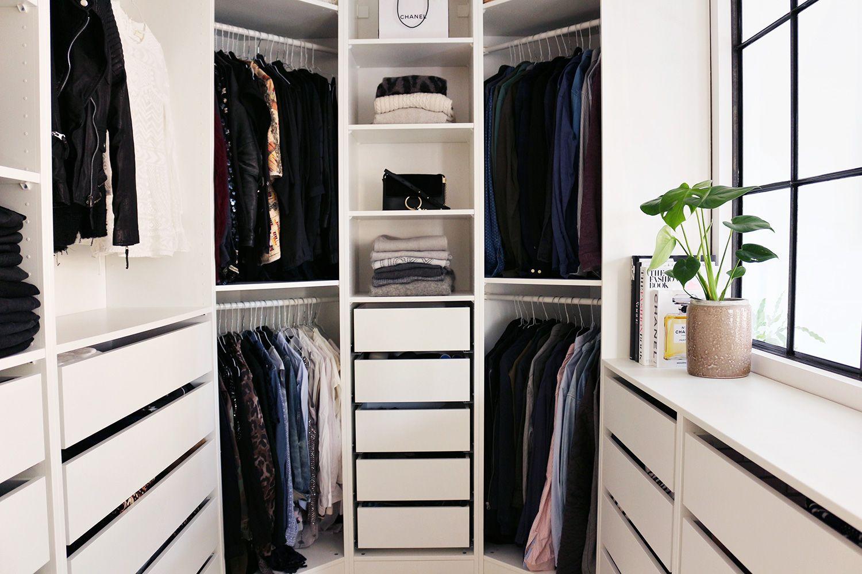 Schlafzimmer Set 140x200 | Begehbarer Kleiderschrank ...