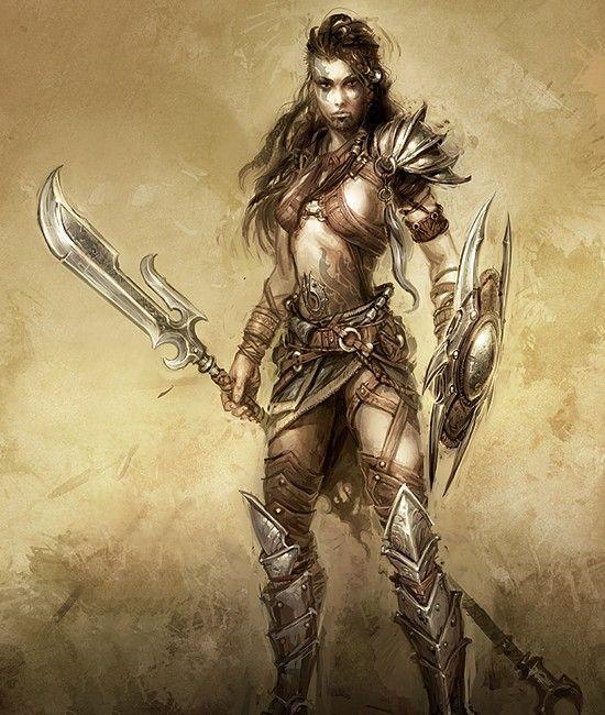 Hot warrior babes