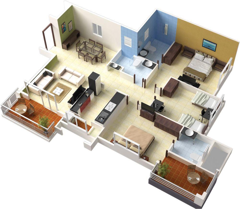 Denah Rumah, Desain Rumah, Rumah