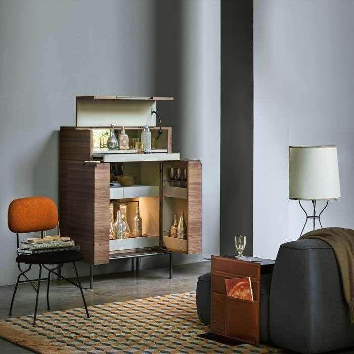 Angolo bar da salotto foto 38 40 pourfemme interiors for Magazzini mobili
