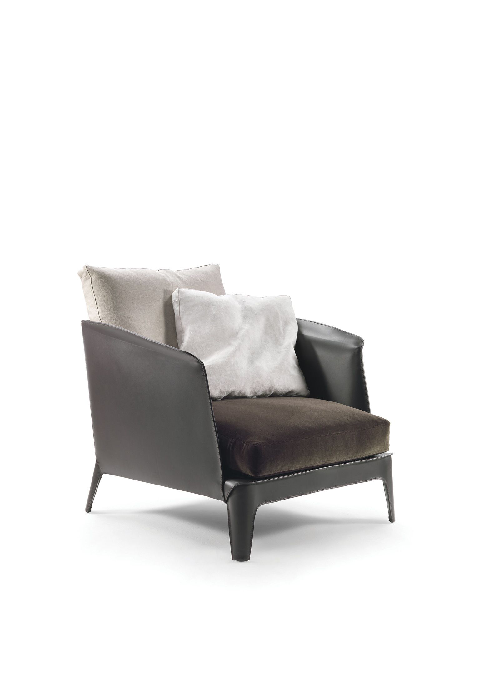 Made In Italy Leather Luxury Contemporary Furniture Set: Flexform 2016 · Modern Luxury Furniture