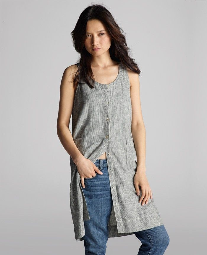 c948d74c28e Eileen-Fisher-Scoop-Neck-Knee-Length-Dress-2-Remodelista